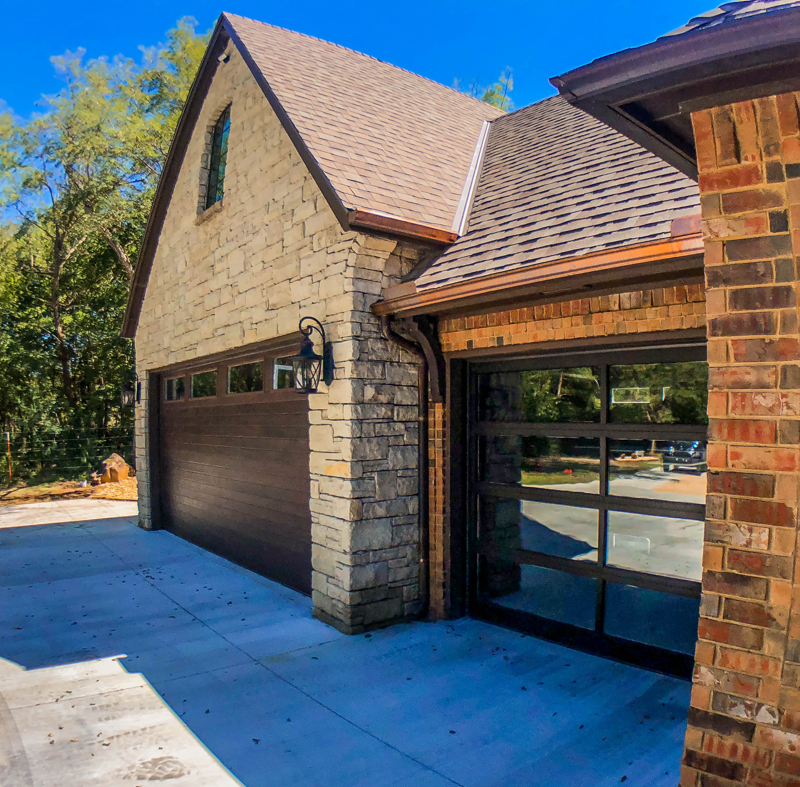 Glass Front Garage Doors Oklahama